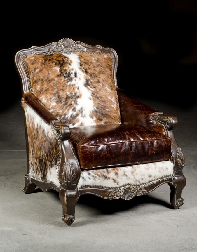 Western ChairCowhide ChairAnteks Home Furnishings