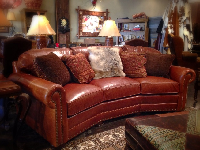 Rustic Leather Sofa  Rustic Sofa Dallas  Western Sofa Dallas  Western Furniture Dallas