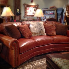 Flexsteel Leather Sofa Price American Sleeper With Chaise Rustic | Dallas Western ...
