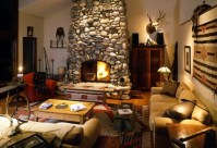 living_room_with_stone_fireplace - Anteks