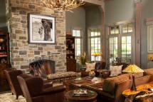 Rustic Western Living Room Decor