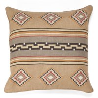 Brown and Grey Accent Pillow at Anteks Furniture Store in ...