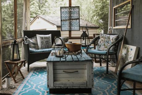 rustic patio furniture 7 ways to