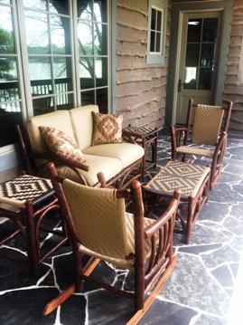 rustic patio furniture anteks