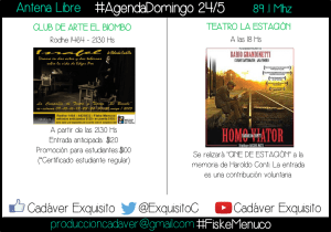 FLYER AGENDA domingo