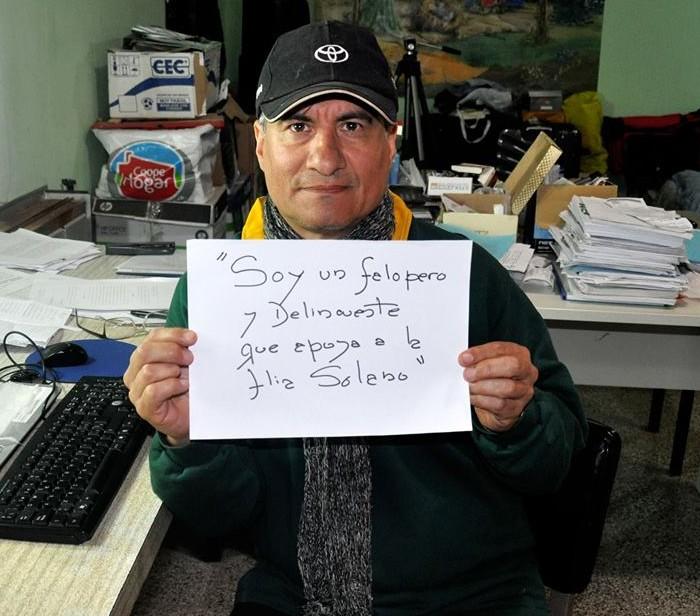 Sergio Heredia, abogado de la familia de Daniel Solano. Foto: facebook