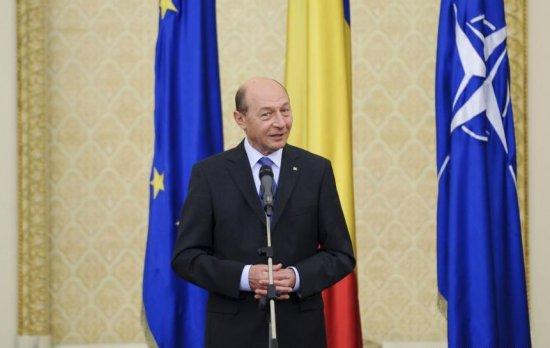 Traian Băsescu face o declaraţie de presă, la ora 17.30. Declaraţiile preşedintelui României, la www.antena3.ro 482