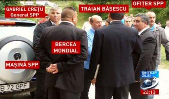 Raportul SPP: Bercea Mondial nu a reprezentat un pericol la adresa preşedintelui Traian Băsescu 482