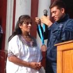 Ganó medalla en Panamericanos y se la regaló a su mamá