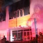 Se queman instalación de SEJ en Zapopan