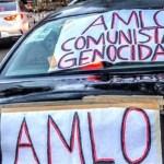 Protesta caravana nacional contra AMLO