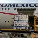Llegan a México 5.7 millones de dosis a granel de la vacuna de AstraZeneca