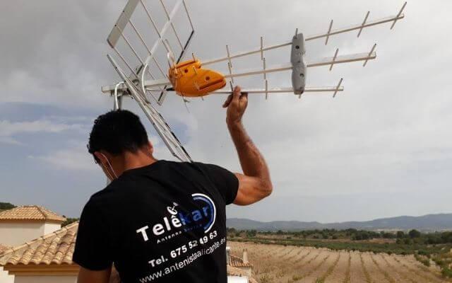 Instalador de antenas Alicante