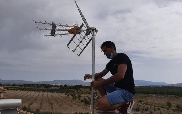 Instalador de antenas TV en Alicante