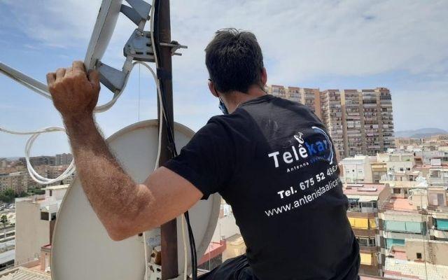 Antenista Alicante barato, antenistas alicante, antenista en alicante urgencias