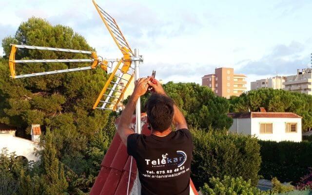 Antenista en Alicante, antenista alicante provincia desplazamiento gratis