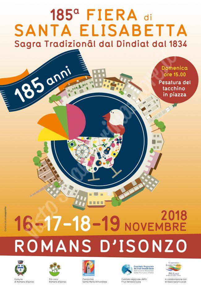 Fiera di Santa Elisabetta 2018 a Romans d'Isonzo