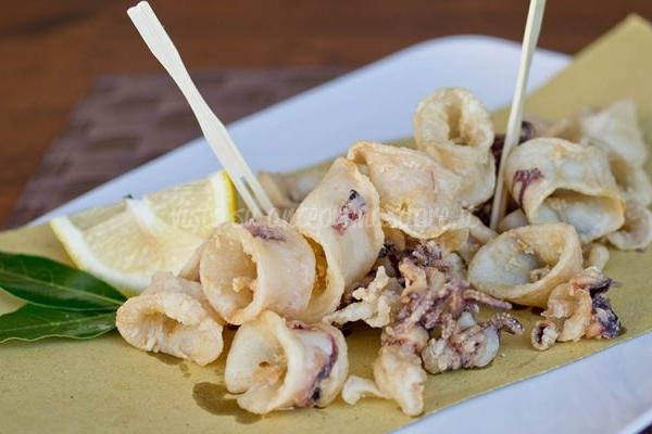 Masanette calamari fritti
