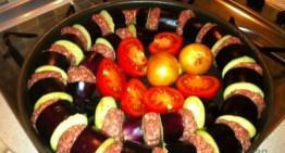 Patlıcan Kebabı (Fırında)