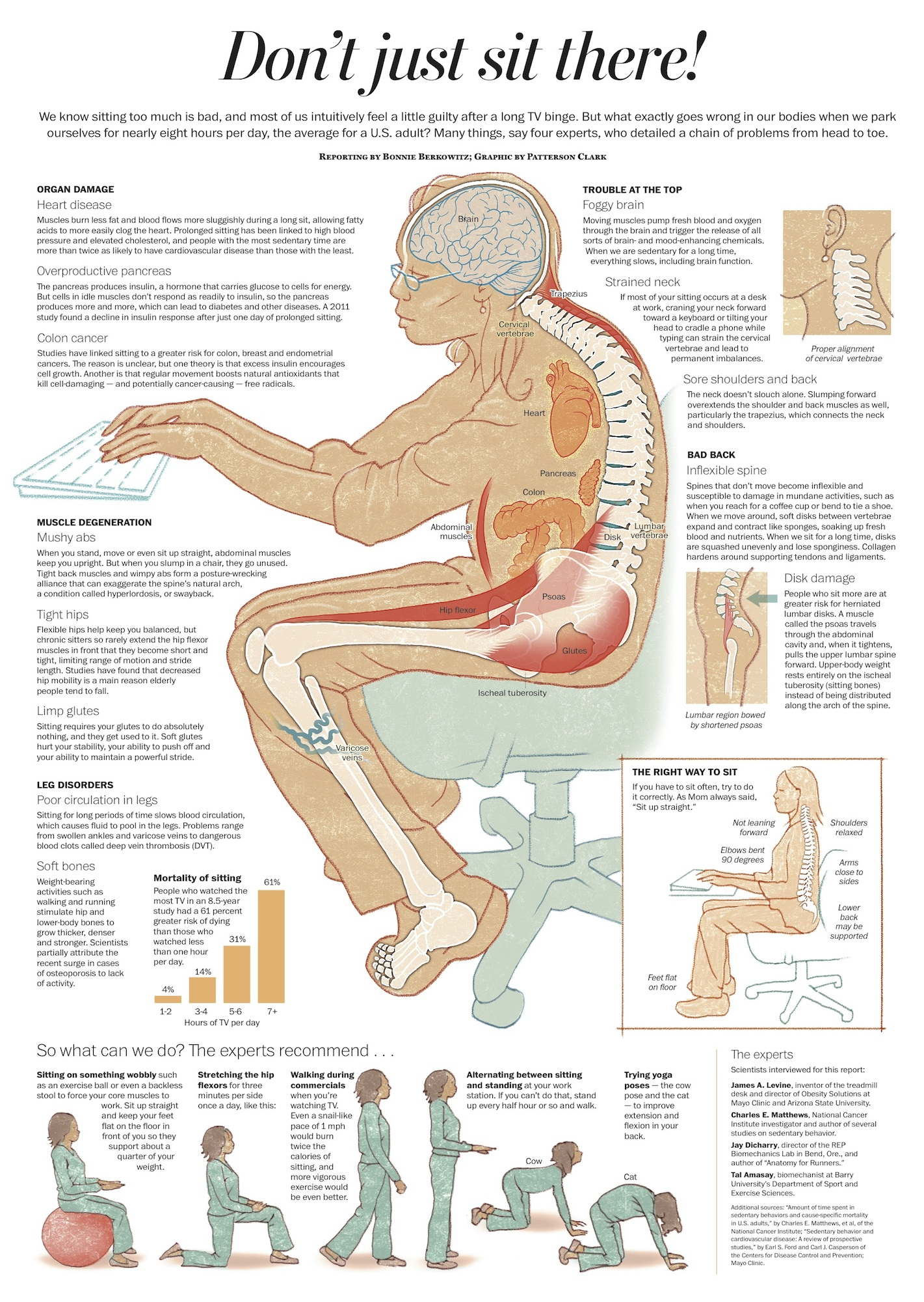 Fight back pain when sitting 8