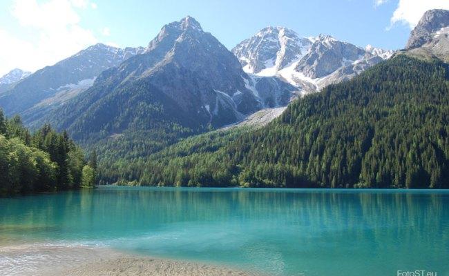 Lago Di Anterselva Terzo Lago Più Grande Dell Alto Adige