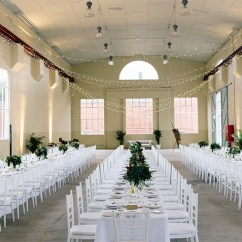Long Kitchen Tables Cherry Brook Fitters Workshop Wedding Reception - Canberra ...