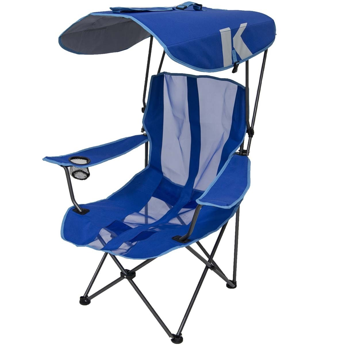 chair with shade canopy motorized recliner kelsyus folding