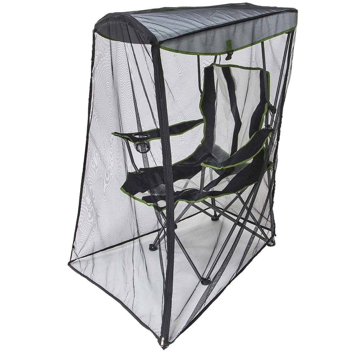 folding canopy chair high boy beach chairs kelsyus w bug guard insect screen
