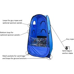 Pop Up Chair Hanging Chairs Johannesburg Actionpod Undercover All Weather Sportpod Tent