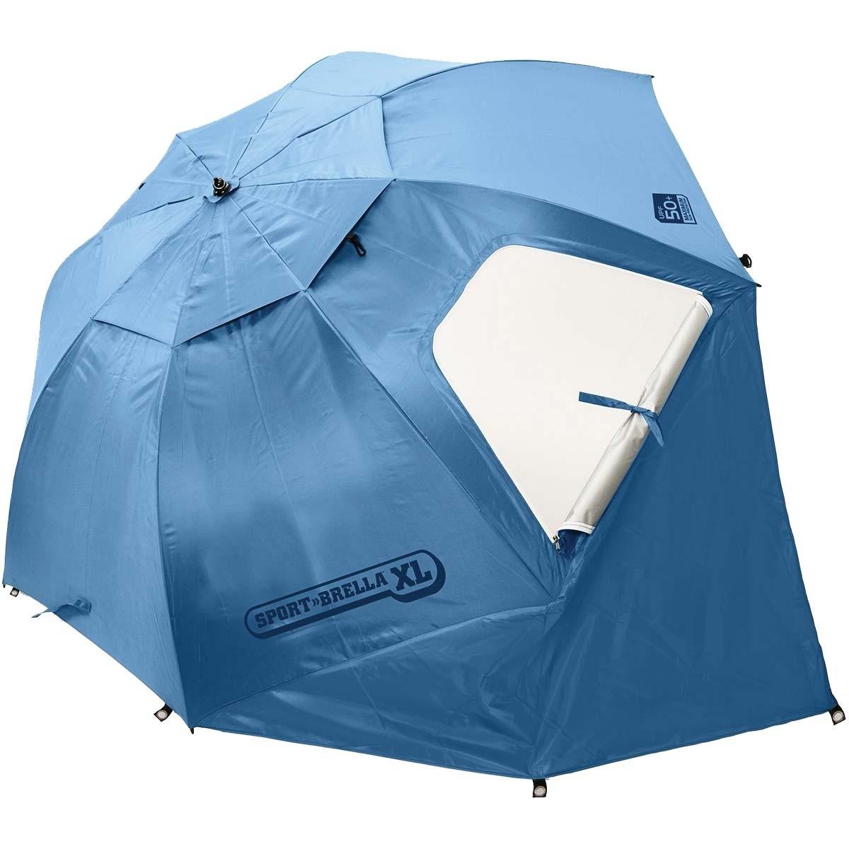 super brella chair navy blue dining chairs set of 2 sklz sport xl 9 sun weather shelter