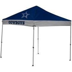 Dallas Cowboys Folding Chairs Orange Slice Chair Nfl 9x9 Straight Leg Canopy