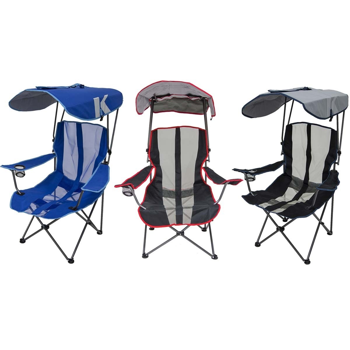 baseball folding tent chair round dining table with chairs kelsyus shade canopy