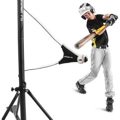 Portable Folding Floor Chairs High Top Table Kitchen Sklz Hit-a-way Pts Baseball Batting Trainer