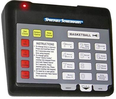Sportable Wireless Remote Control for MultiSport