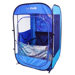 Chair Under Cover Fisher Price Space Saver High Replacement Solopod Undercover All Weather Sportpod Pop Up Tent