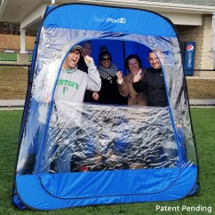 Chair Under Cover Bedroom Rocking Teampod Undercover All Weather Sportpod Pop Up Tent