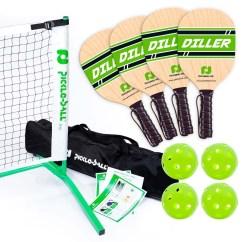 Portable Chairs For Golf Tournaments Desk Chair Light Blue 3 Tournament Diller Pickleball Set