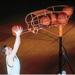 Rolling Chairs For Office Beach Heavy Person Spalding Mccall's Basketball Rebounder Trainer