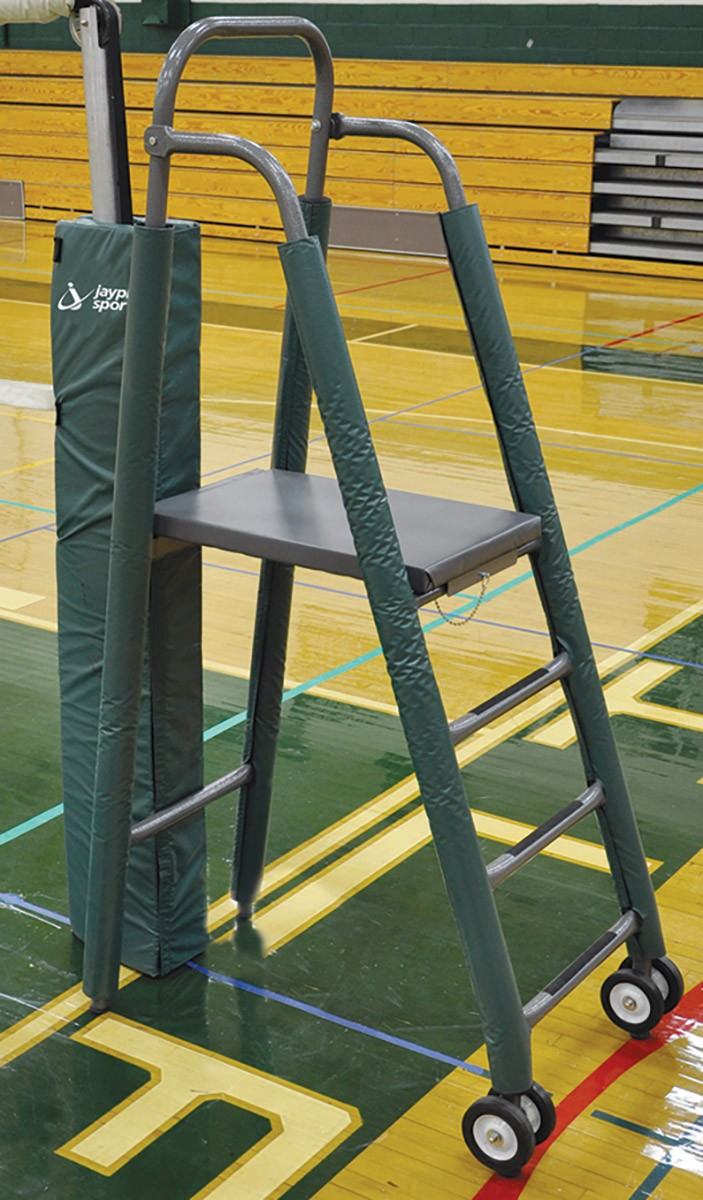 stadium chair for bleachers child patio jaypro vrs-8000 mega-ref volleyball referee stand -