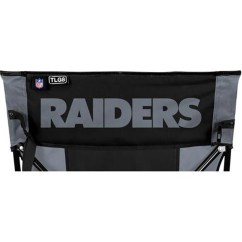 Oakland Raiders Chair Ikea Glass Dining Table And 4 Chairs Nfl Tailgate