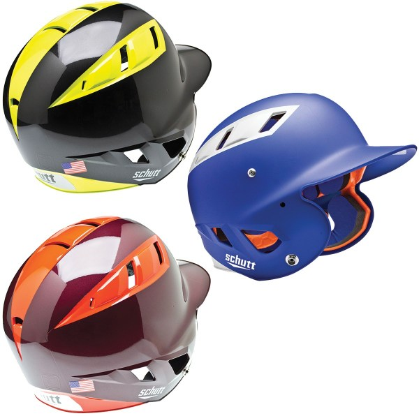 Gold Fitted Batting Helmet Schutt