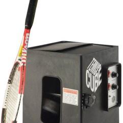 Wrestling Chairs For Sale Alera Office Tennis Tutor Cube W/ Oscillator Ball Machine