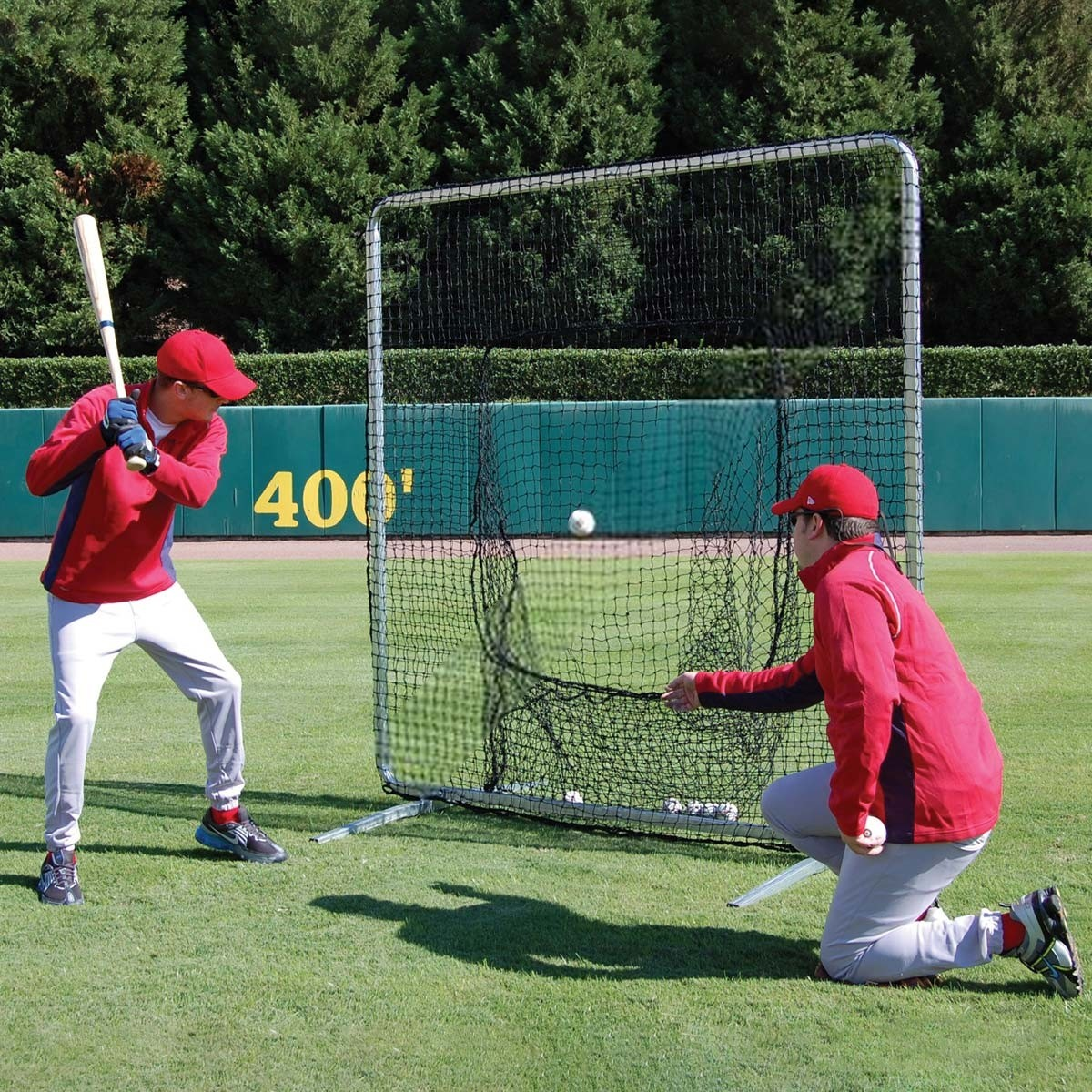 ProCage BaseballSoftball Batting Practice Frame  Sock