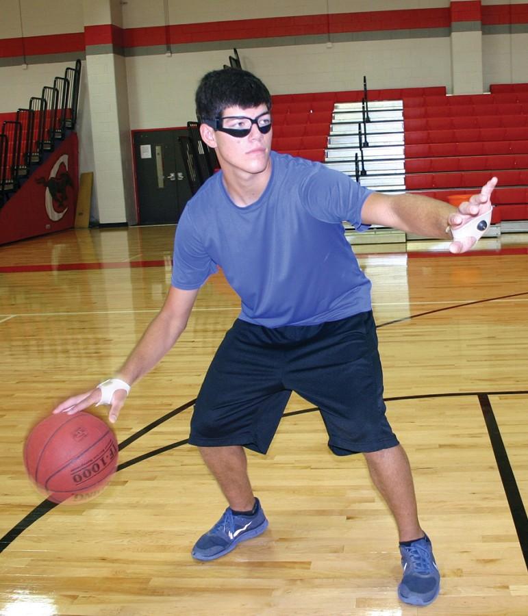 KBA Basketball Ball Handling Dribble Gloves pair YOUTH