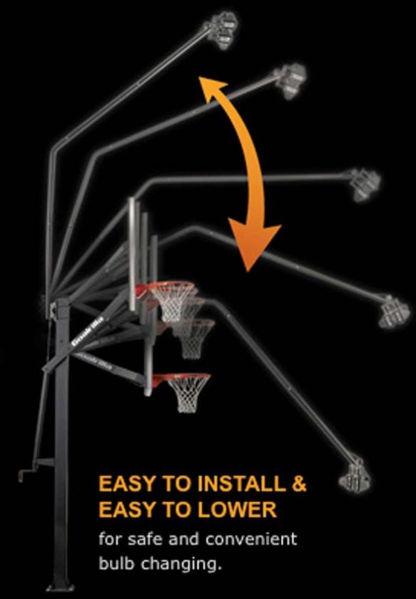 Goalrilla B2414 Deluxe Basketball Hoop Light