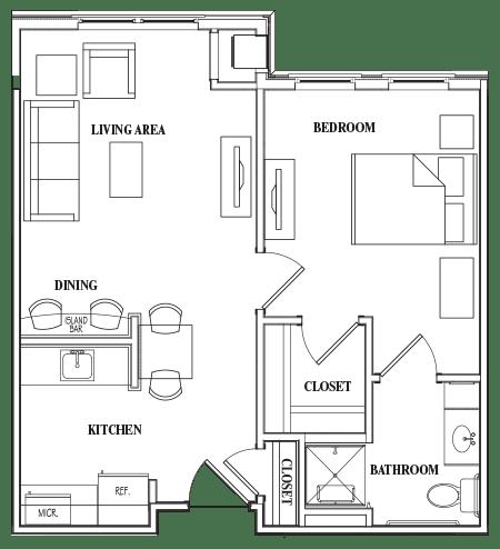 Floor Plans for Senior Housing and Apartments Jacksonville
