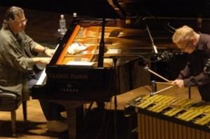 Chick Corea (left) and Gary Burton