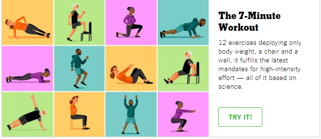 7 min busy mom workout