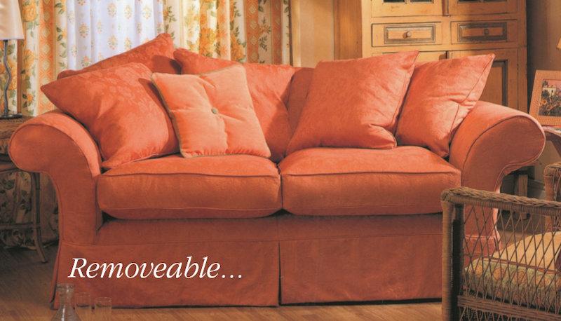 sofa glasgow dark grey blue walls upholstery and loose cover in edinburgh fife ...