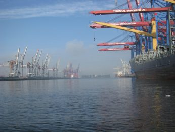 Hamburg's port is a massive operation, and boat tours give you a close-up view of everything.